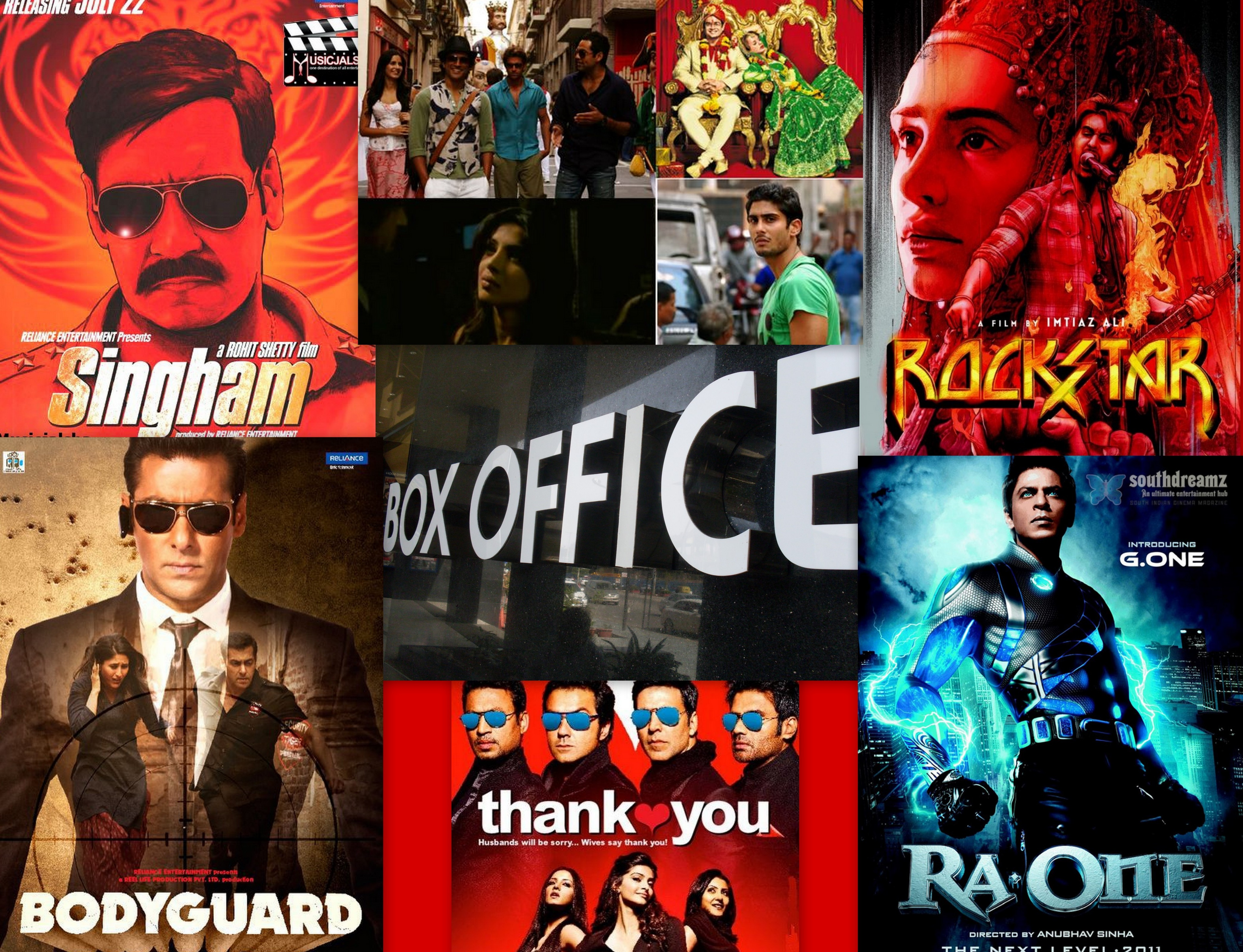 Action Movie Collage